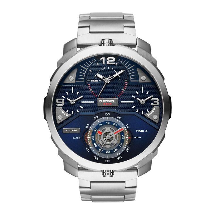 Diesel Ironside Biker horloge DZ7361