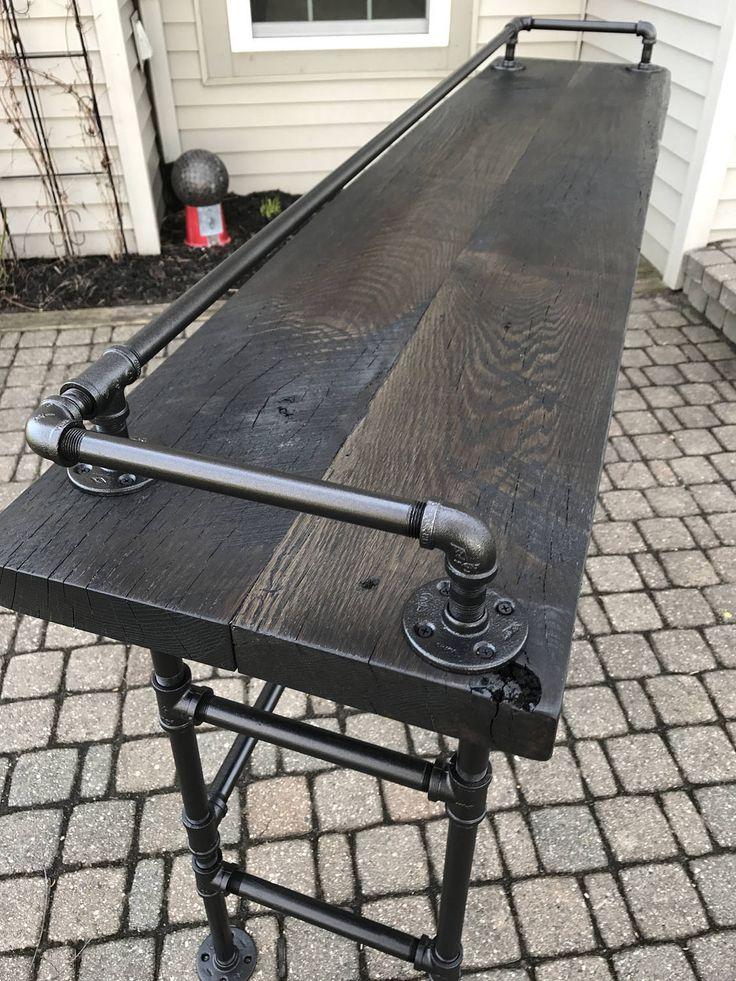 Grange récupéré XL bois barrette clic-clac Table