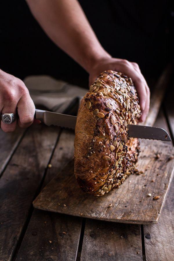 seeded whole grain breakfast bread
