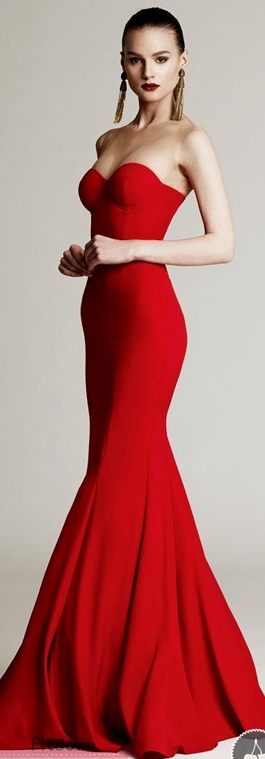 17 best ideas about Red Prom Dresses on Pinterest | Red prom shoes ...
