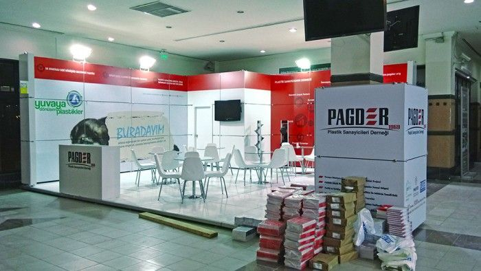 PAGDER - Plast Eurasia 2015 İstanbul Exhibition stand.