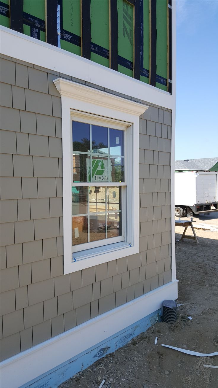 Window sill and casing beadboard window pediment casing painting - Exterion Window Trim