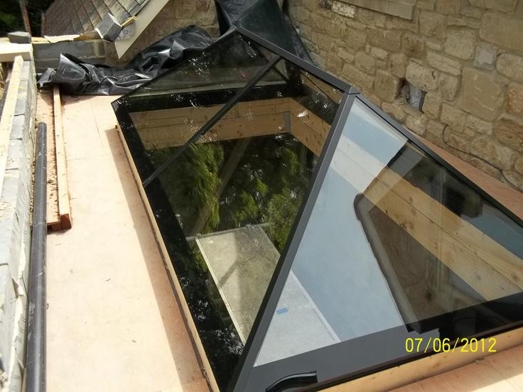 Slimline Roof Lantern Frameless Design Aluminium Trims