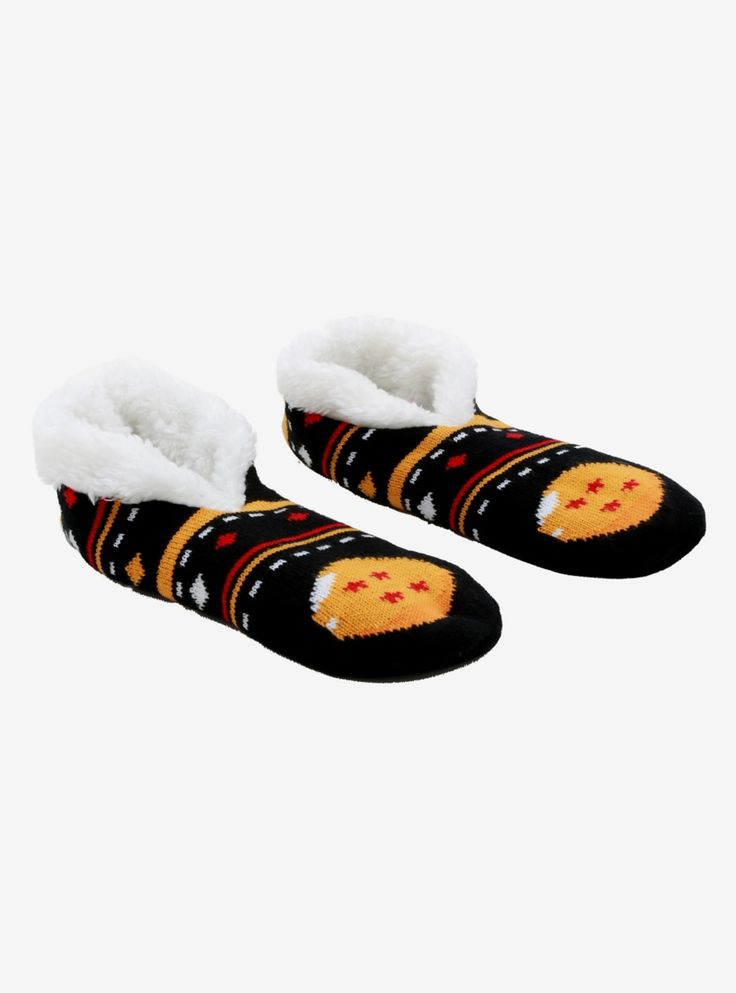 Dragon Ball Z Dragon Ball Slipper Socks – BoxLunch Exclusive