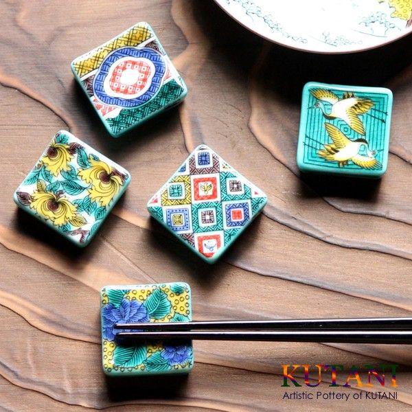 Kutani Hashioki chopsticks rests