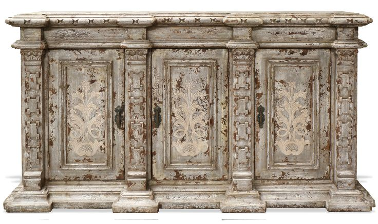 Miraflores Old World Mediterranean Buffet | The Koenig Collection - Unique Home Furnishings