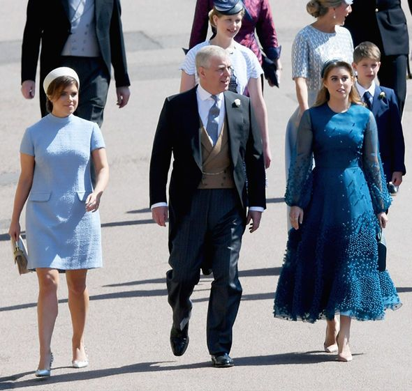 Princess Beatrice And Eugenie Royal Wedding Harry S Cousins Opt