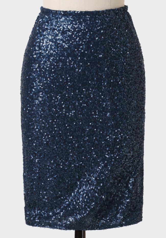 sequin pencil skirt my style