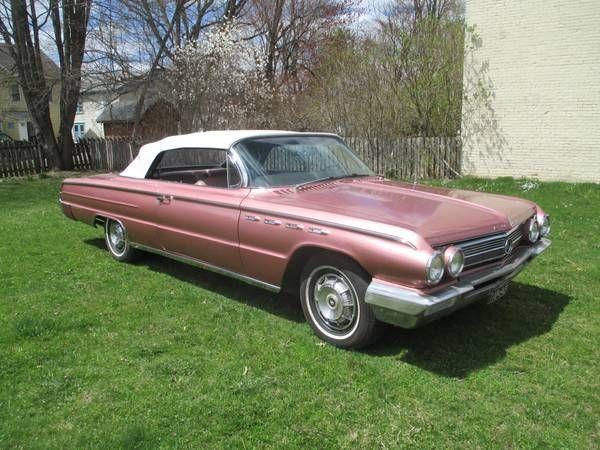 '62 Buick Electra 225 ... w/ 401ci Nailhead V8 and 2-speed Turbine-Drive automatic.