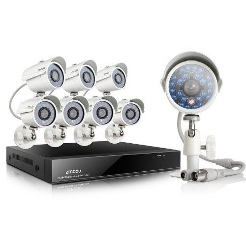 Special Offers - Zmodo 8Channel DVR CCTV Security Camera System w/8 700TVL Hi-Resolution Night Vision Outdoor Surveillance Cameras 1TB Hard Drive - In stock & Free Shipping. You can save more money! Check It (April 19 2016 at 07:59PM) >> http://bestmotionsensor.net/zmodo-8channel-dvr-cctv-security-camera-system-w8-700tvl-hi-resolution-night-vision-outdoor-surveillance-cameras-1tb-hard-drive/