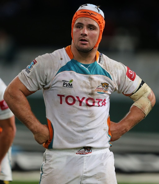 Heinrich Brussow during the Super Rugby match between The Sharks and Toyota Cheetahs from Kings Park on April 20, 2013 in Durban, South Africa.