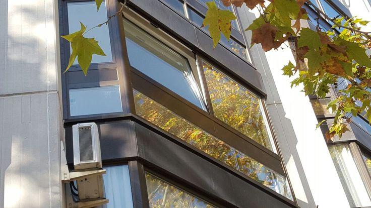 Mirador en aluminio bicolor  #mirador, #aluminio