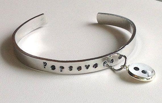 Semicolon Bracelet. Suicide awareness depression by IsleOfAgape