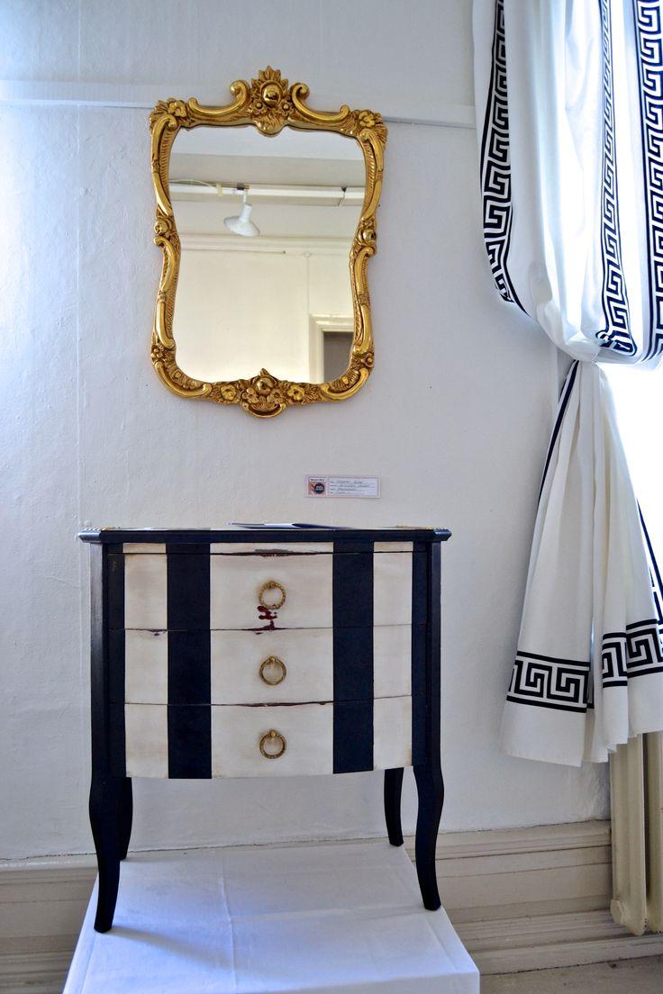 MOZART small dresser. Gilded mirror SOLD. www.mercedesmurat.com
