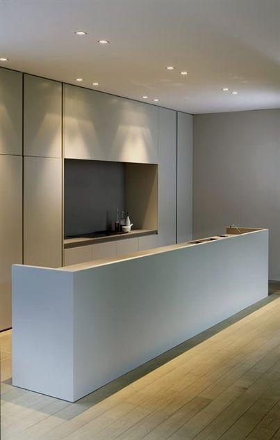 Minimal Kitchen Design Cabinets Cuisine Minimaliste Design De