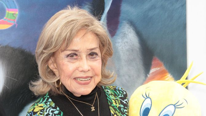 """June Foray, the voice of """"The Rocky and  Bullwinkle Show's"""" Rocky the Flying Squirrel and his nemesis Natasha Fatale of Boris and Natasha fame in the early 1960s and a key figure in the animation industry, died Thursday, July 27, 2017. She was 99. Foray was also the voice behind Looney Tunes' Witch Hazel, Nell from """"Dudley Do-Right,"""" Granny in the """"Tweety and Sylvester"""" cartoons and Cindy Lou Who in Chuck Jones' """"How the Grinch Stole Christmas,"""" among hundreds of others."""