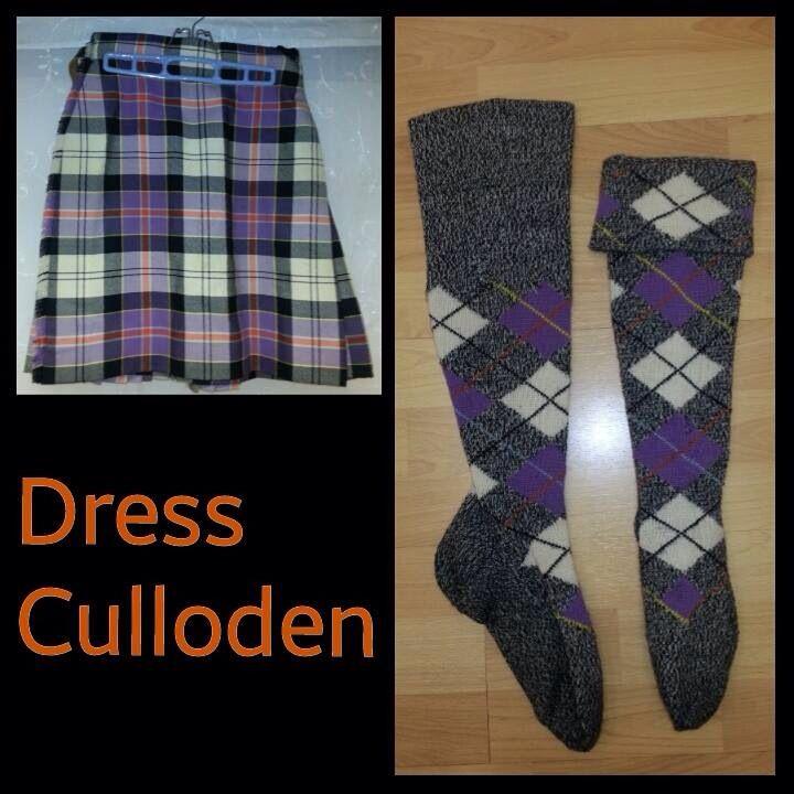 Dress Culloden - size 12-14yrs