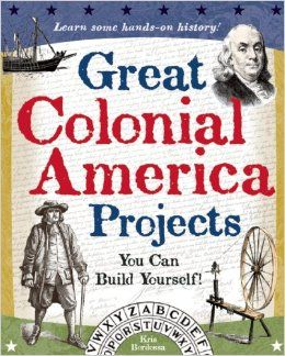 From colonial fashions and trades to biographies on key historical figures such as Captain John Smith and Thomas Jefferson, this interactive guide blends engaging activities with facts and trivia about early America. Through hands-on projects using common household materials, kids will try their hand at activities such as rug braiding, candle making, and weather forecasting.