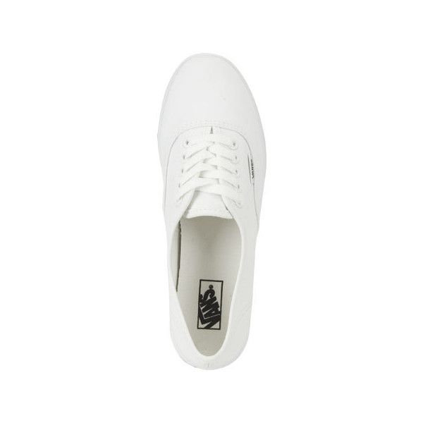 Vans Authentic Lo Pro Womens Shoes (100 BRL) ❤ liked on Polyvore featuring shoes, sneakers, laced shoes, lacing sneakers, boat shoe sneakers, vans topsiders and rubber sneakers