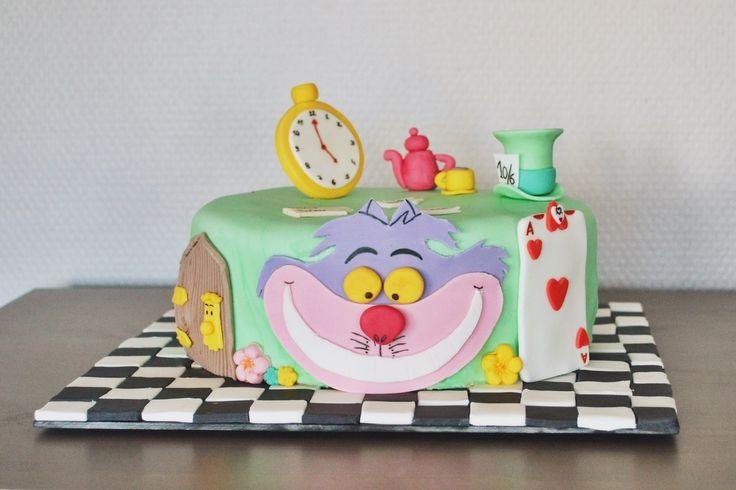 Concours gâteau d'anniversaire - Alice au Pays des Merveilles | Cultura
