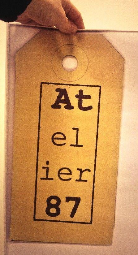 Logo Atelier 87!