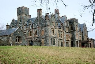 Duncraig Castle from Plockton (Walkhighlands) Home of the opium lords - Mathieson. It was abandoned but taken over by a London family who now run the restored parts as a Bed and Breakfast . Its in a spectacular setting overlooking the sea and Plockton.