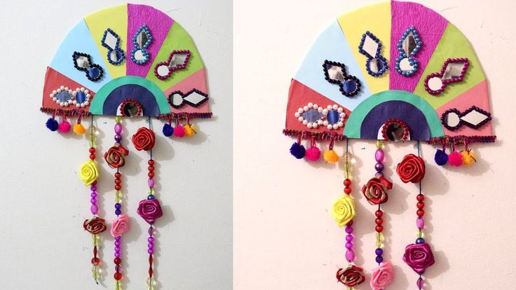 how to make wall hangings with cardboard