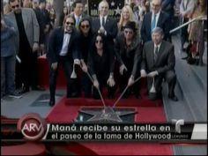 Grupo Maná Recibe Su Estrella En El Paseo De La Fama En Hollywood #Video