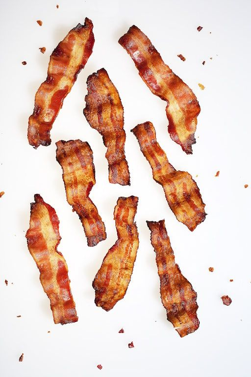 Bacon's nutrition. #bacon #foods