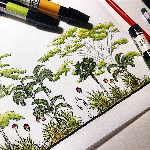 Residential Landscape Architecture Drawings
