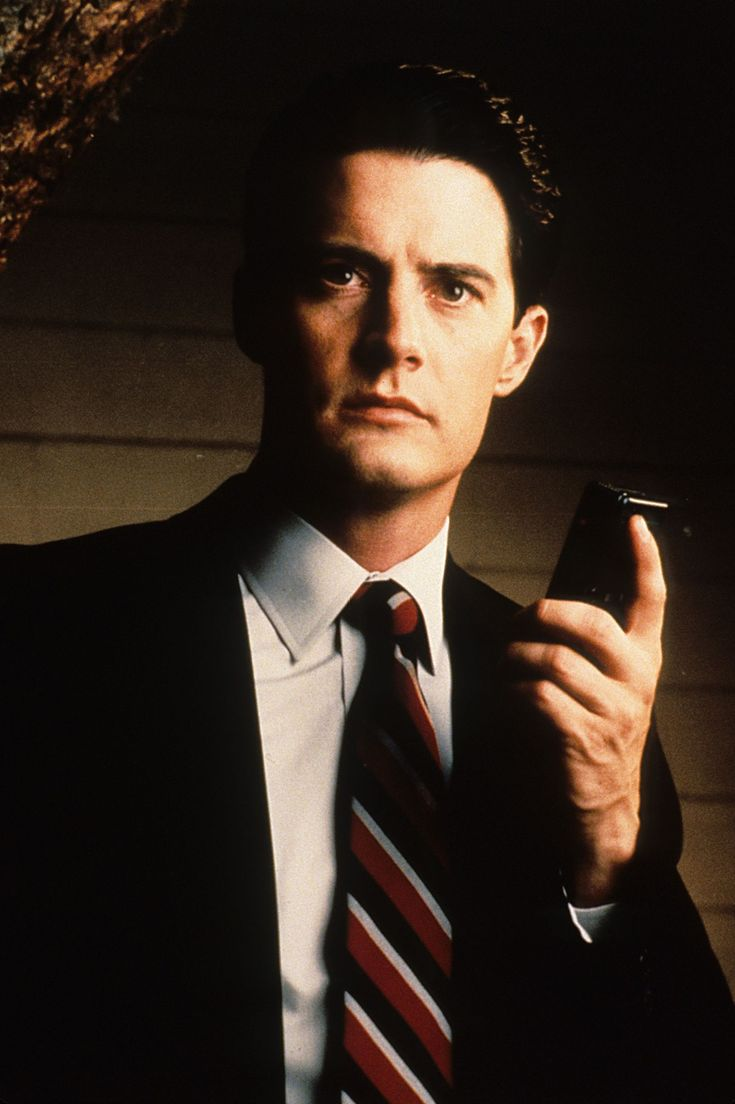 Kyle MacLachlan as agent Dale Cooper in Twin Peaks (1990-1991)