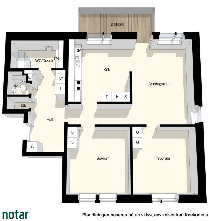 Notar - Siklöjevägen 8, 3 tr, Tyresö