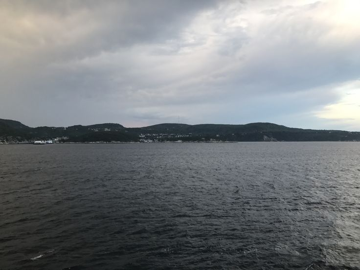 View as we approach #tadoussac from the #ferry.  Beautiful #quebec #canada.  #outhere #outdoors #hike #adventure #roadtrip #wanderlust #travel #backpacking #beautifuldestinations #trekking #waterfall #traveling #trip #greatoutdoors #ohcanada #tourcanada #offthebeatenpath #backcountry #explorecanada #explore #parkscanada