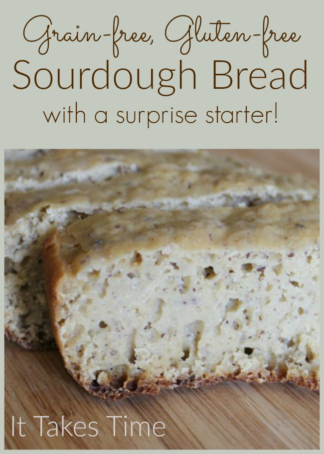 This Paleo-friendly and GAPS-friendly sourdough bread recipe uses a special ingredient as a starter!