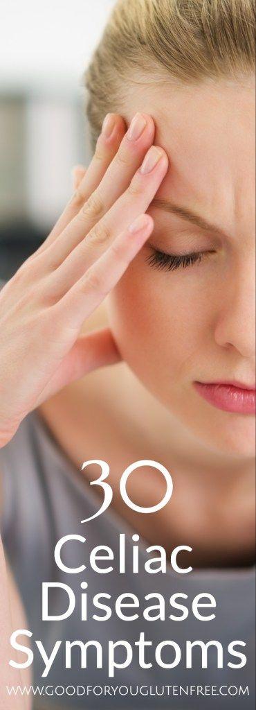 30 Celiac Symptoms - Good For You Gluten Free