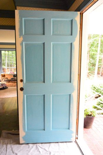 Best 25 painted exterior doors ideas on pinterest outdoor house paint house paint design and - Exterior blue paint set ...