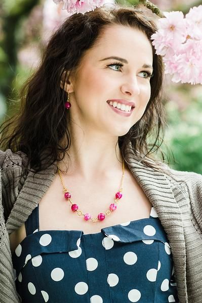 Sweetberry Necklace - Global Wonders Jewelry