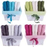 Days In Colours Sepet Havlu 30x50 cm sizlere her bir renk seçeneğinden ikişer havlu bulunarak ile bir sepetin içinde sunuluyor. Kalitesi ve kullanışlılığıyla banyolarınızın vazgeçilmezi olacak. Bu rengarenk havlulara sahip olmak için: http://bit.ly/GBJ0d5