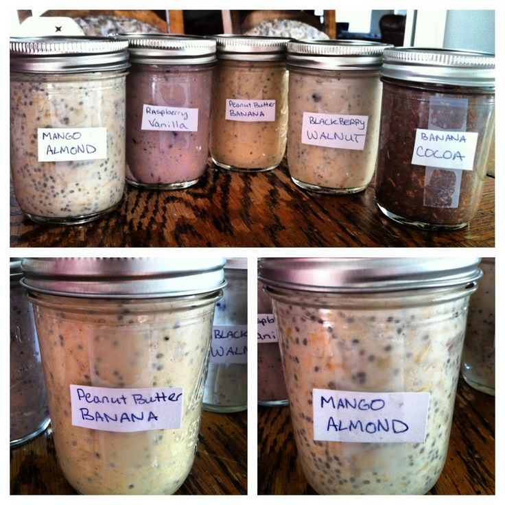 Overnight Oats Recipes from Yoga Eat Run. www.onedoterracommunity.com https://www.facebook.com/#!/OneDoterraCommunity