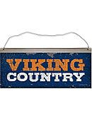 Salem State University Vikings Country Tin Sign