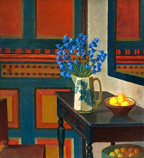 Veikko Vionoja (Finnish, 1909-2001) - Interior, 1975