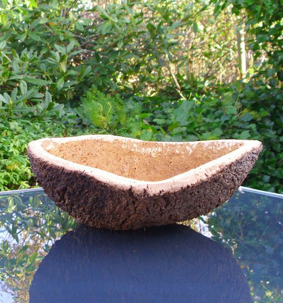 Cork bowl made of natural bark by BHDnordic on Etsy