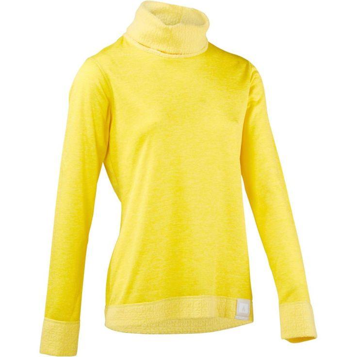Deportes de Nieve Deportes de Invierno - camiseta termica de esqui 2WARM MUJER AMARILLO WED'ZE - Snowboard $10