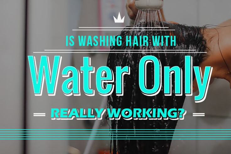 There are constant questions about whether co-washing or washing hair with water only can actually clean hair. Look no further, we got the answer for you.