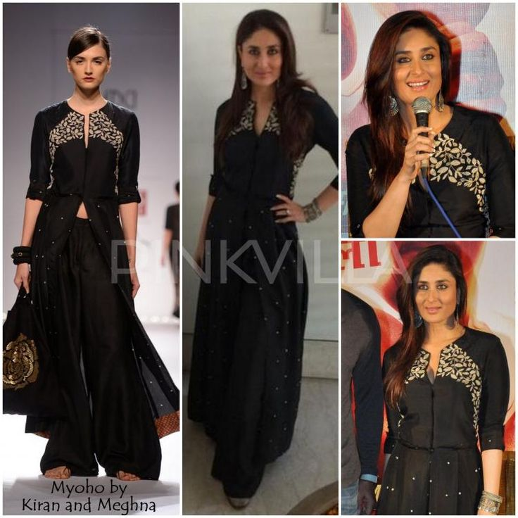Kareena Kapoor in Myoho by Kiran and Meghna.