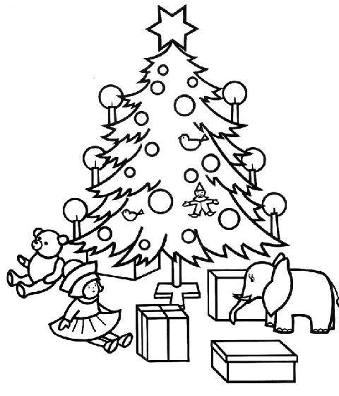 86 besten Coloring - Christmas tree Bilder auf Pinterest ...