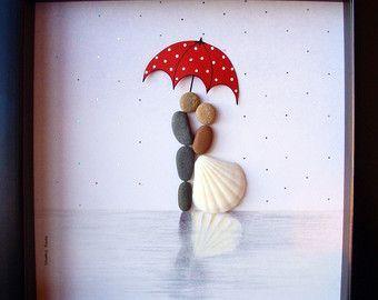 Unique WEDDING Gift-Customized Wedding Gift-Pebble by MedhaRode – #GiftCustomize…