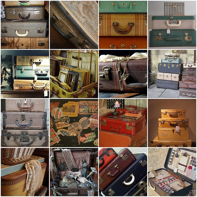 Awesome Vintage Luggage Great Pictures