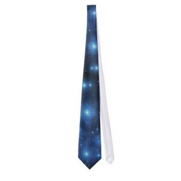 NASA Pleiades mens tie