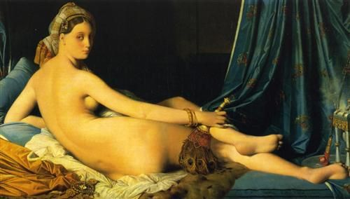 La Grande Odalisca, 1814, olio su tela, Louvre, Parigi